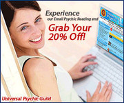Grab Your 20% Off On Our Email Psychic Services