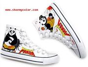 Kung Fu Panda Shows His Style on Shoes