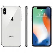 Apple iPhone X 256GB Silver-New-Original, Unlocked ff