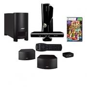 Microsoft Xbox360 4GB Console w/ Kinect & Bose HT 7777
